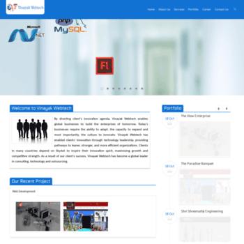 Vinayakwebtech.com thumbnail