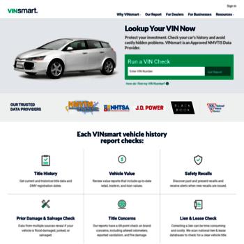 Vehicle Value By Vin >> Vinsmart Com At Wi Vin Lookup Vin Number Research