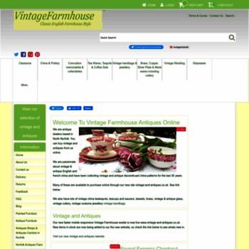 Vintagefarmhouse.co.uk thumbnail