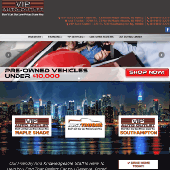 Vip Auto Outlet >> Vipautooutlet Com At Wi Used Cars Maple Shade Nj Used Cars