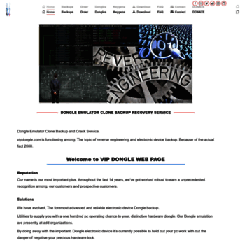 vipdongle com at WI  Dongle Emulator, Clone and Crack Service - VIP