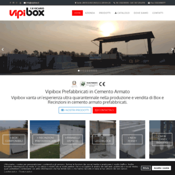 Vipibox It At Wi Vipibox Prefabbricati In Cemento Armato E