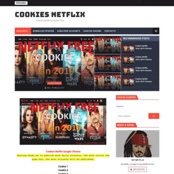 vipnetflix com at WI  Cookies Netflix