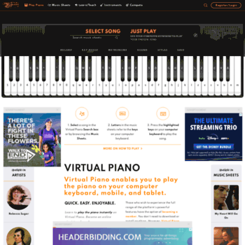 virtualpiano net at WI  Virtual Piano | The Original Best Piano App