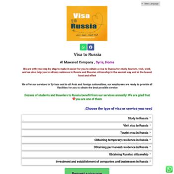 Visa2russia.net thumbnail