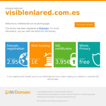Visiblenlared.com.es thumbnail