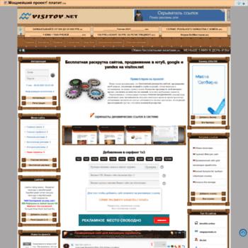 Веб сайт visitov.net