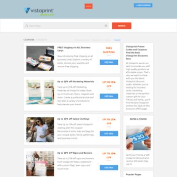 vistaprintdeals com at WI  Vistaprint Coupons & Promo Codes