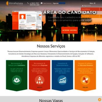 3b8661520f412 vitoriahumana.com.br at WI. Soluções em Desenvolvimento de Pessoas e ...