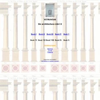 Vitruvius.be thumbnail