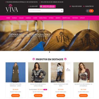 4f2e2e7854 Vivamodaplussize.com.br thumbnail. Viva Moda Plus Size - Sua melhor opção  ...