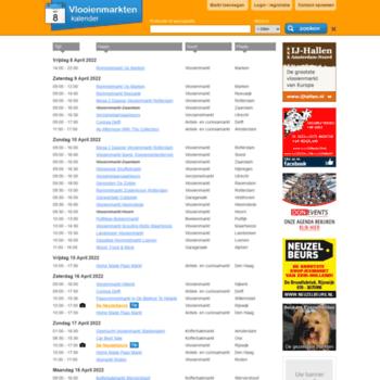 vlooienmarktenkalender nl