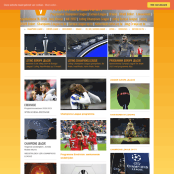 Voetbalkalender.nl thumbnail