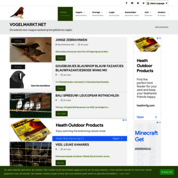 Vogelmarkt.net thumbnail