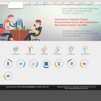 Voice-foundation.org thumbnail