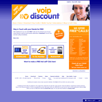 voipdiscount calls download