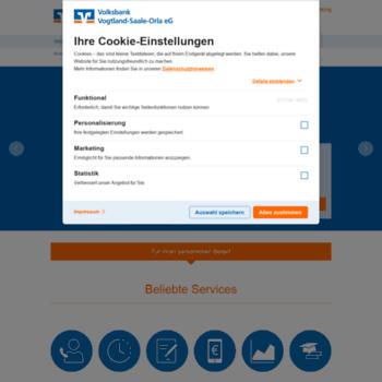 Volksbank-vogtland.de thumbnail