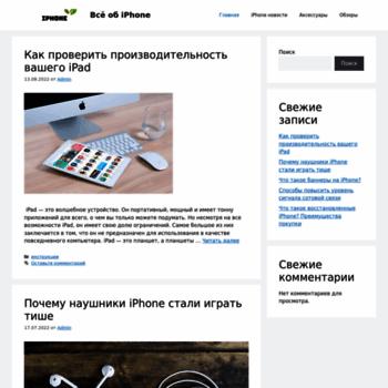 Веб сайт vooa.ru