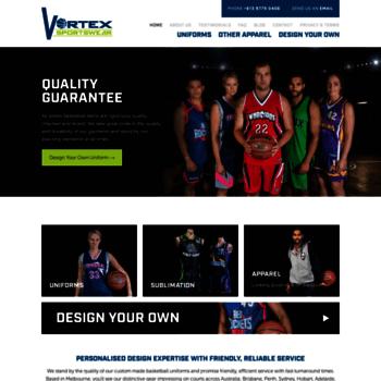 d1b338a8798 Vortexbasketball.com thumbnail. Home | Vortex Sportswear