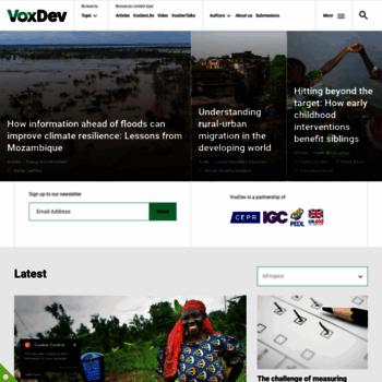 Voxdev.org thumbnail