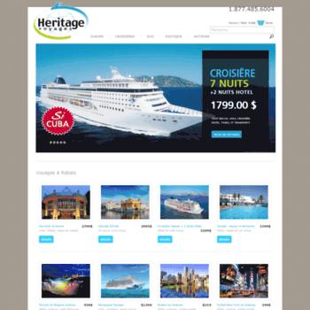 Voyagesheritage.ca thumbnail