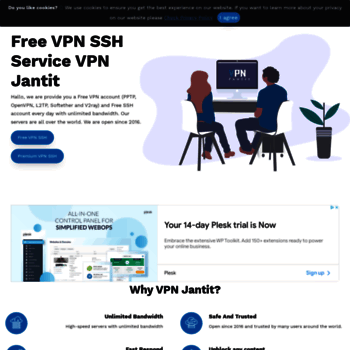 vpnjantit com at WI  VPN JANTIT: Create Free and Premium VPN SSH Account