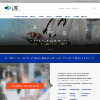 vps com at WI  LRS Output Management | Print Management