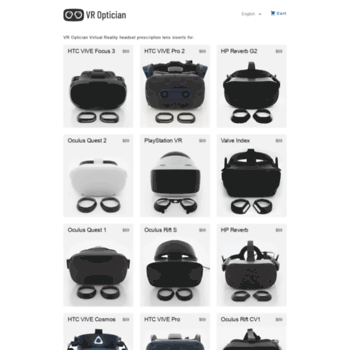 vr-lens eu at WI  VR Optician - Prescription Glasses for