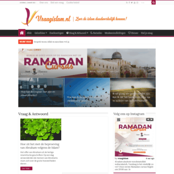 Vraagislam.nl thumbnail