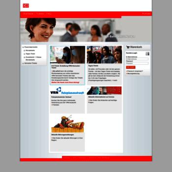 Vrn-onlineticket.de thumbnail