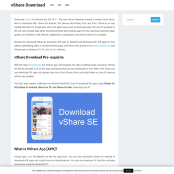 vsharedownloadapp com at WI  vShare Download for iOS / Android / PC