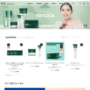 Vtcosmetics.jp thumbnail