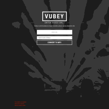 vubey yt at WI  High Quality YouTube to MP3 Converter, YouTube