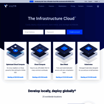 vultr com at WI  SSD VPS Servers, Cloud Servers and Cloud