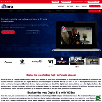 w3era com at WI  Organic SEO Company in USA | Digital