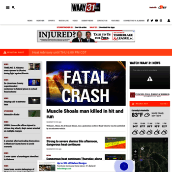 waaytv com at WI  Huntsville News, Weather, Sports