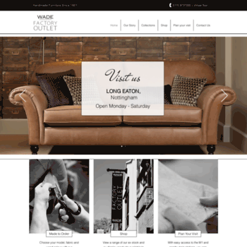 Wade-upholstery.co.uk thumbnail