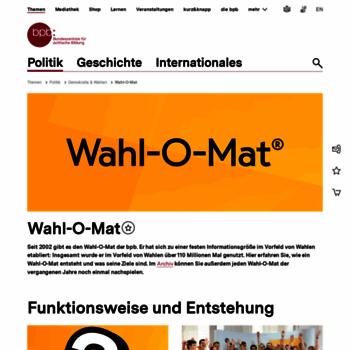 Wahl-o-mat.de thumbnail