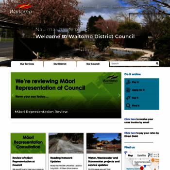 Waitomo.govt.nz thumbnail