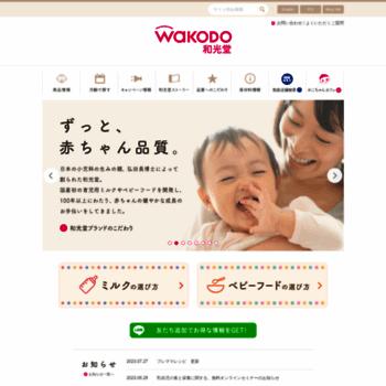 Wakodo.co.jp thumbnail