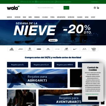 at WI. Tienda online de deportes, calzado y