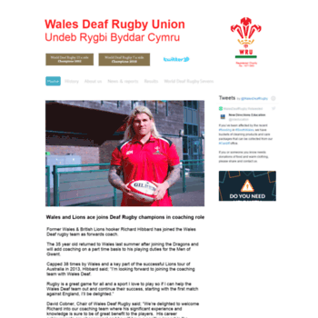 Walesdeafrugby.co.uk thumbnail