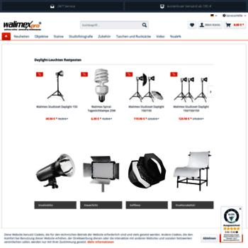 Walimex-online.de thumbnail