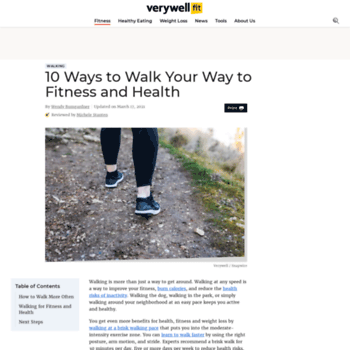 Walking.about.com thumbnail