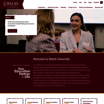 Walsh.edu thumbnail