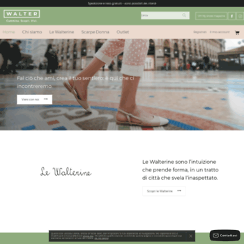 waltercalzature.it at WI. Walter Calzature - Vendita Scarpe Online c841abc8608