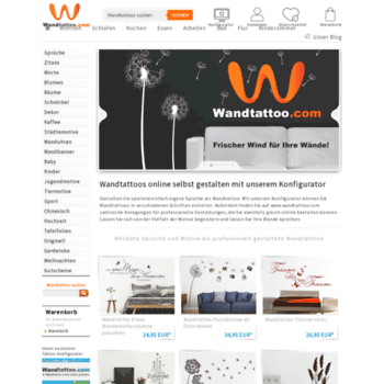 Wandtattoo.com thumbnail
