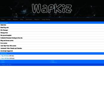 wapkiz mobi at WI  WapKiz Com - Create Your Own Site