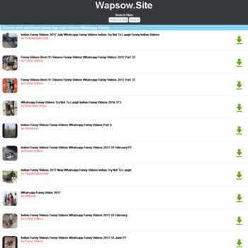 Wapsow.site thumbnail