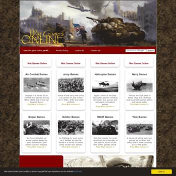 war-game online at WI  War Games Online ~ WW1 War Games